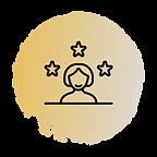 Icon depicting client success