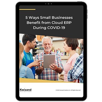 Ways SMBs Benefits from Cloud ERP - Cove