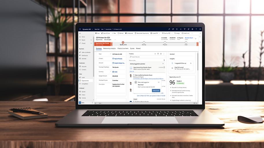 Microsoft Dynamics 365 Sales Partner - Kwixand Solutions