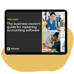 Business Owner's Guide for Replacing Accounting Software