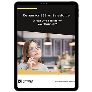 Book Cover - Dynamics 365 vs Salesforce.