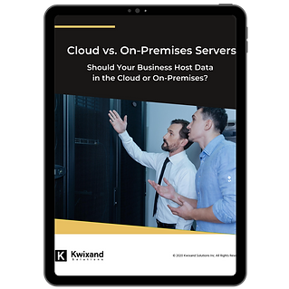 Cloud vs On-Premises Servers - Ebook Ima