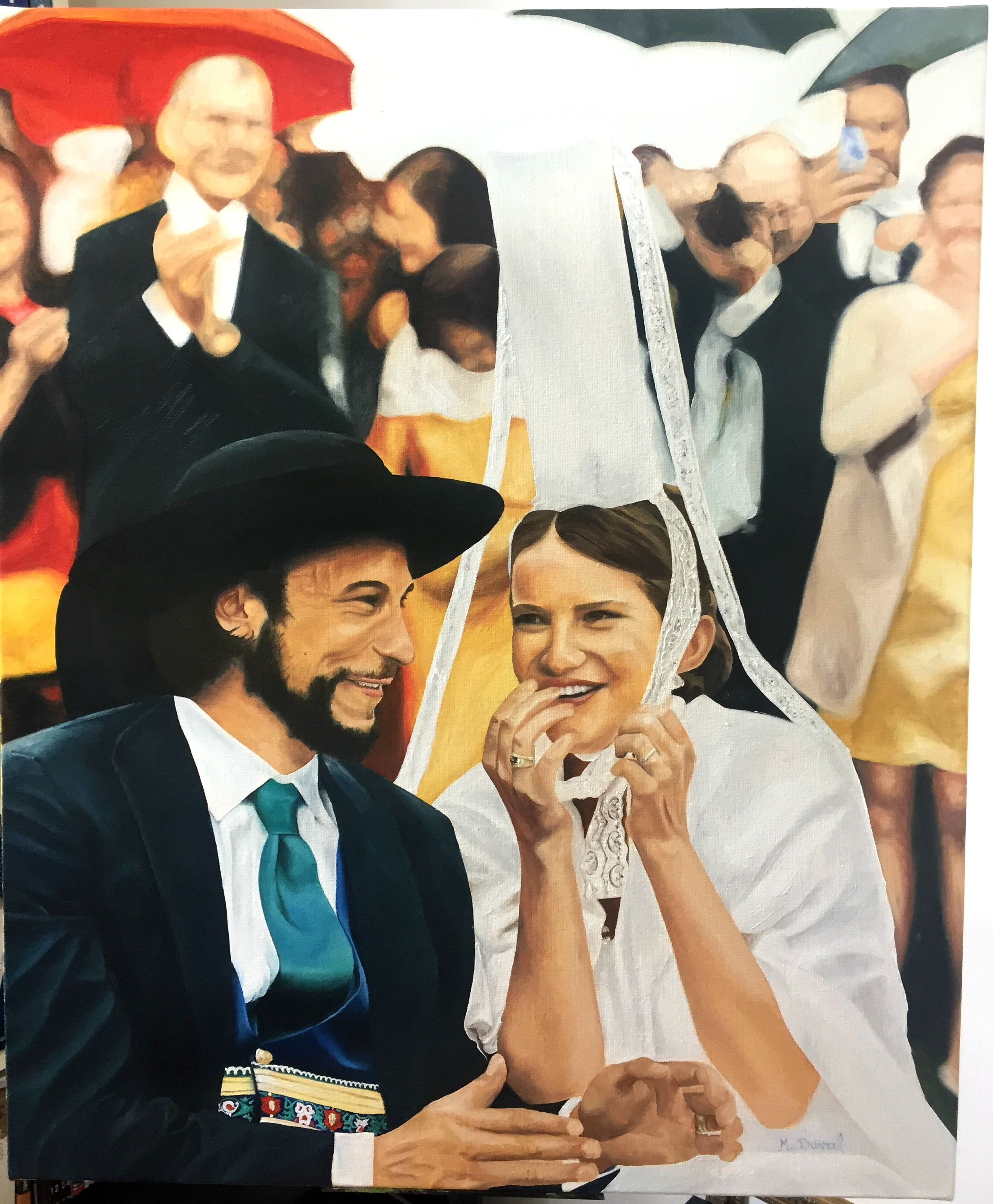 Les mariés bretons