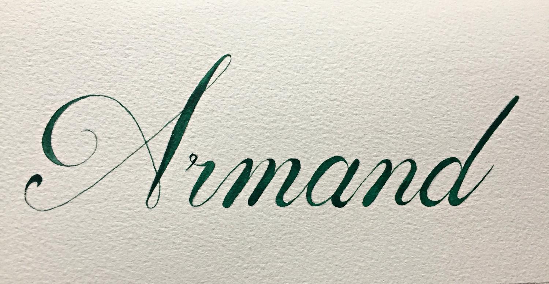 Calligraphie prénom