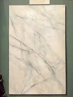 Imitation marbre et faux-relief