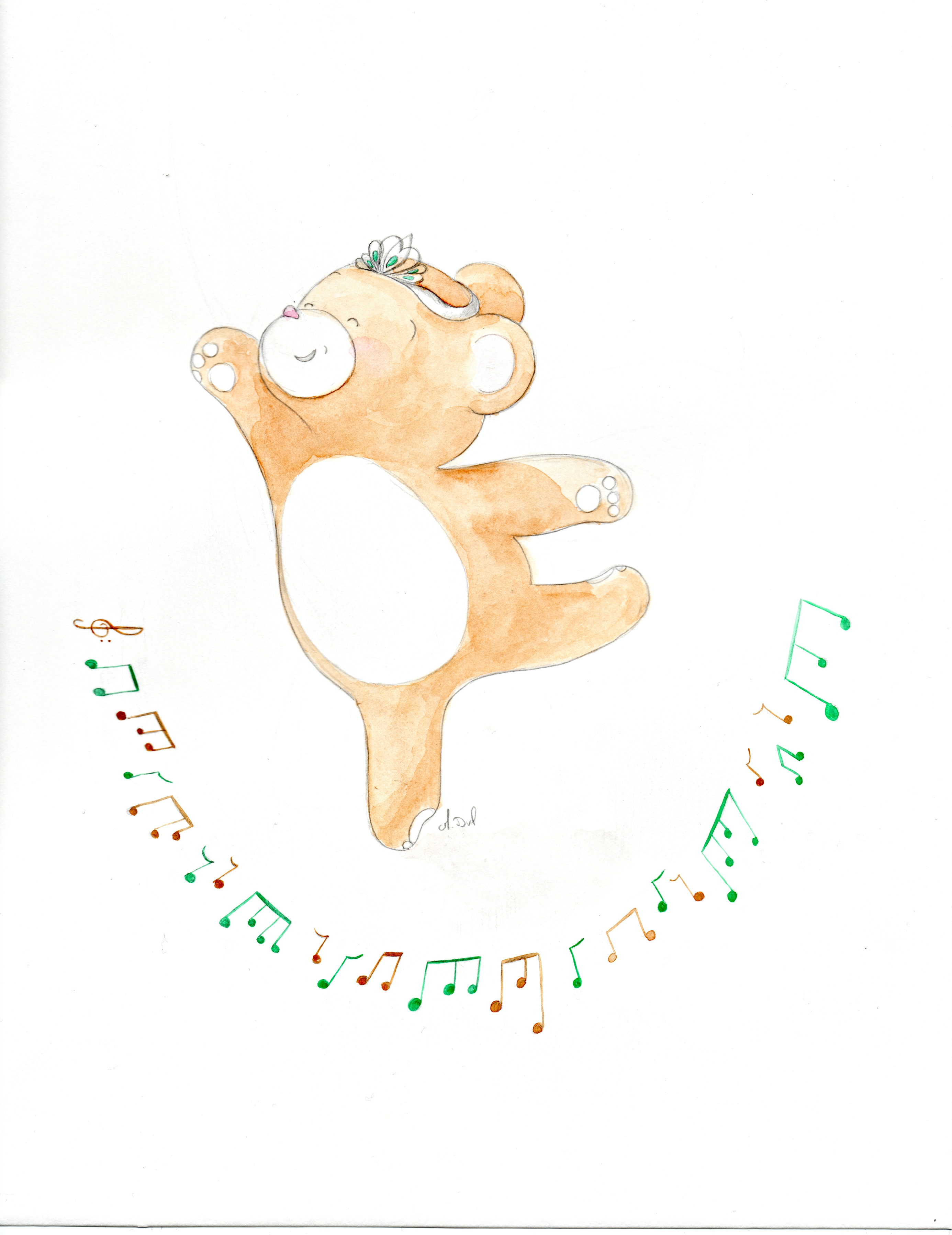 ourson danse 4