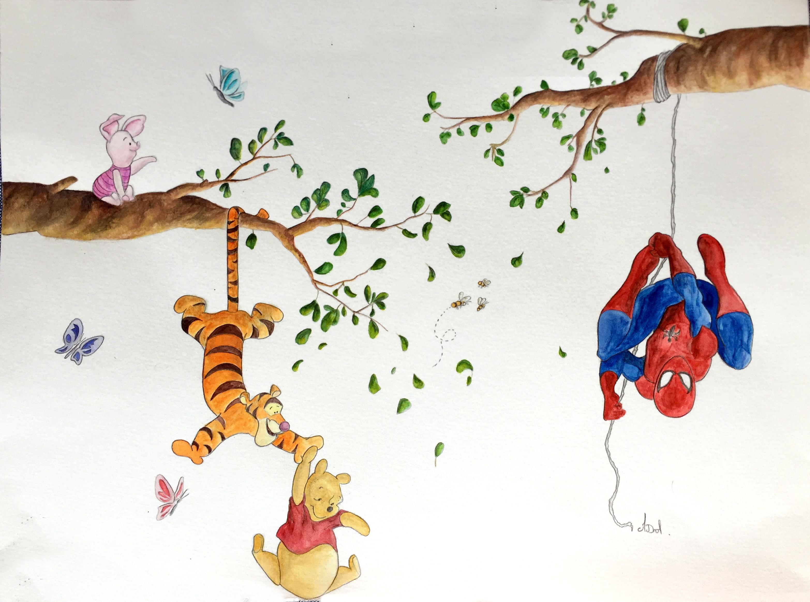 Disney dans les arbres