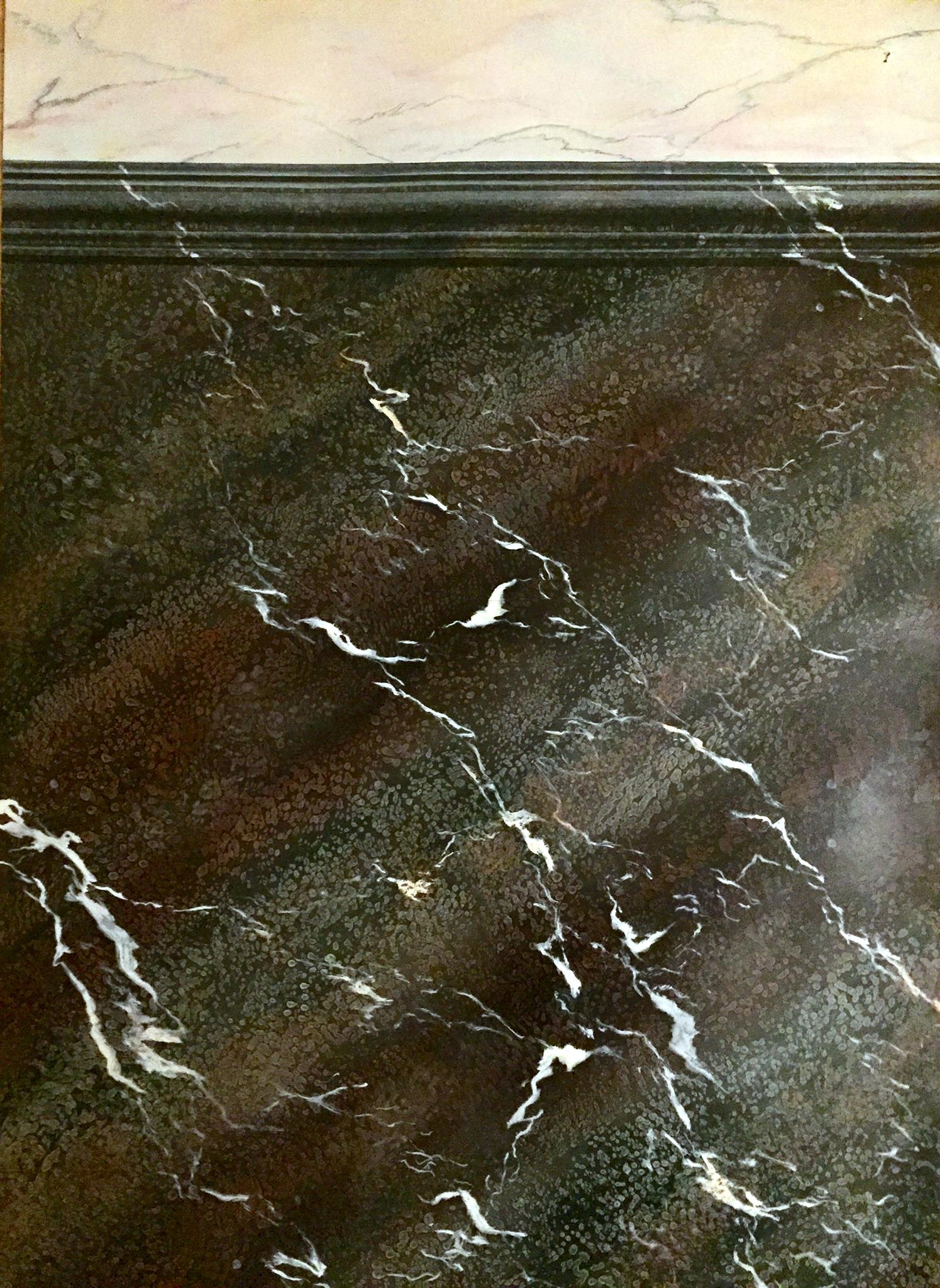 Imitation de marbre campan mélangé