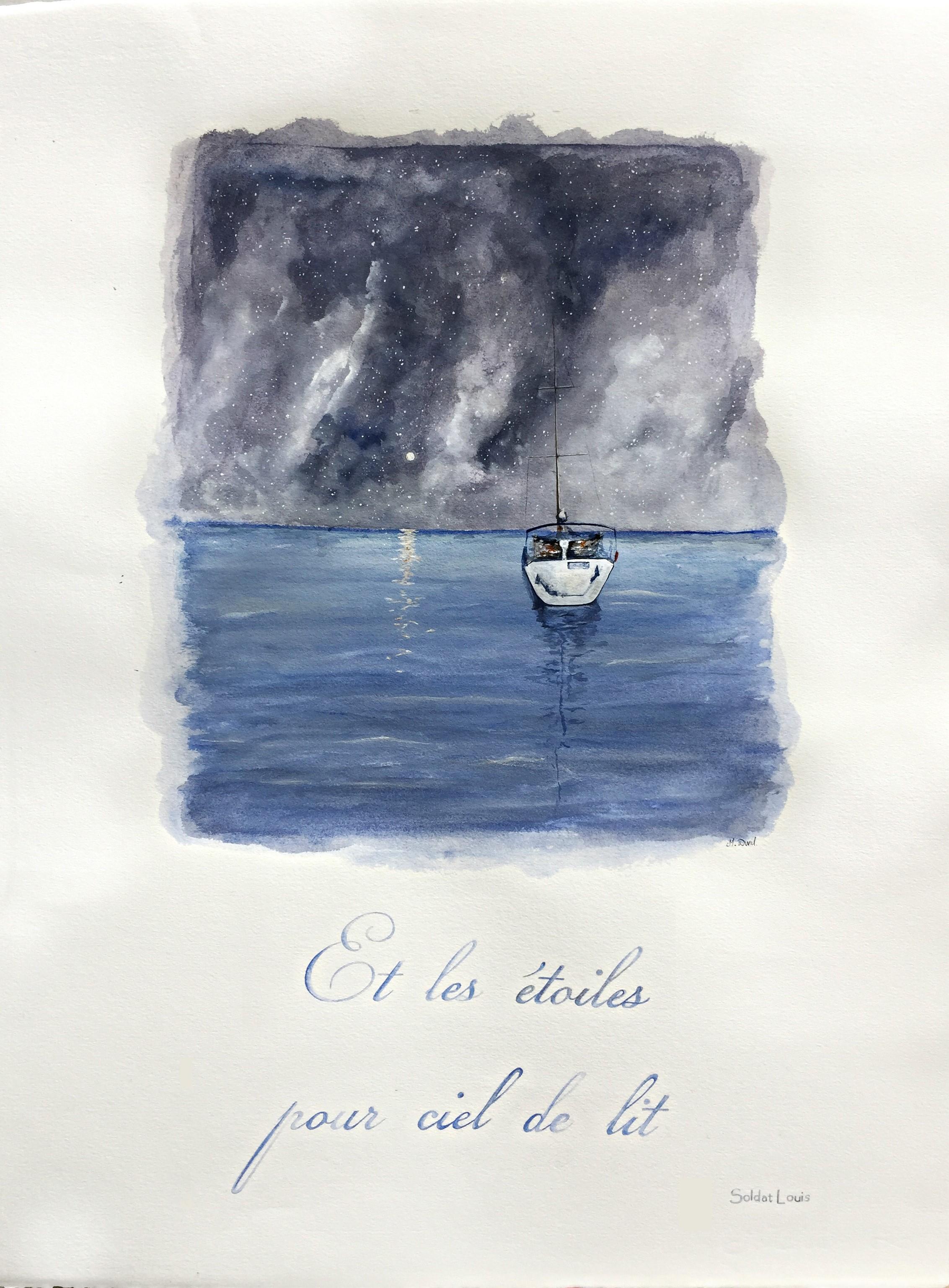 Collection peinture et citation