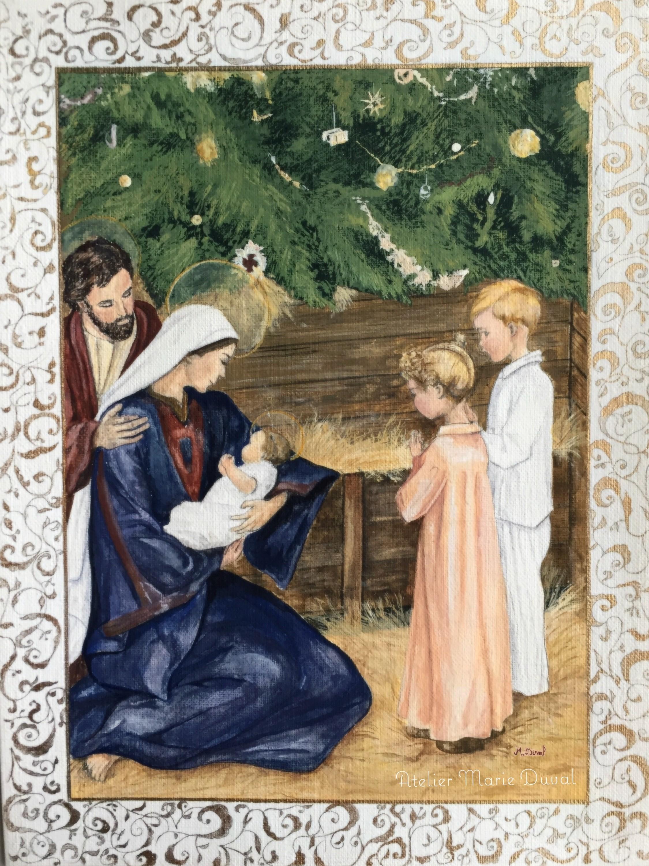 Carte de vœux et cadre ornementé