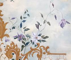 détail de fleurs