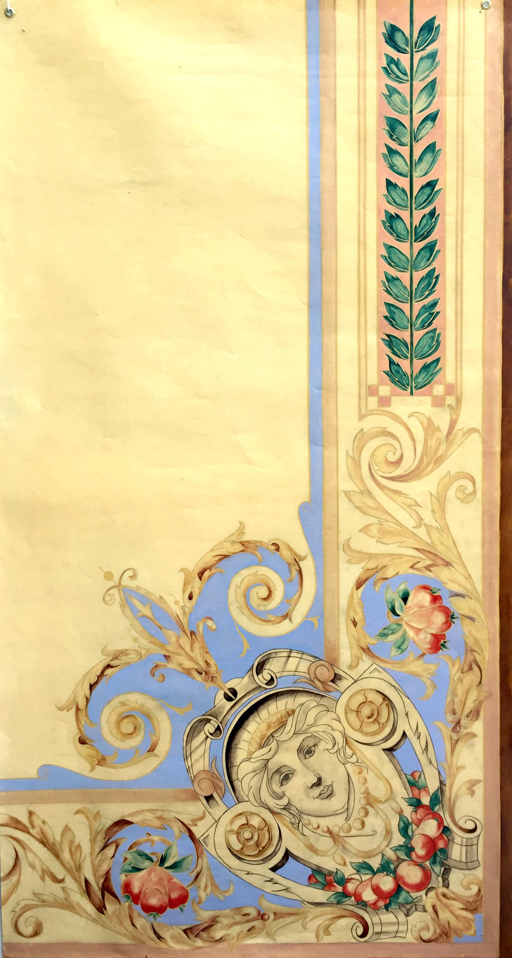 Modèle de plafond Renaissance