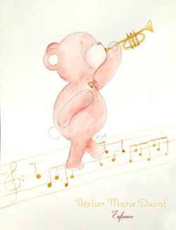 ourson jazz