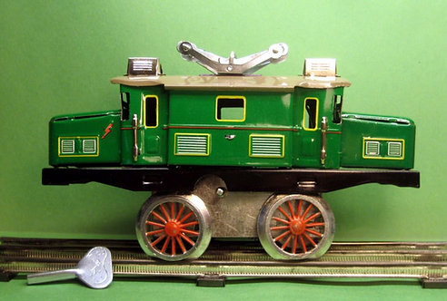 #TT-01 - Boxcab Locomotive, Wind-Up