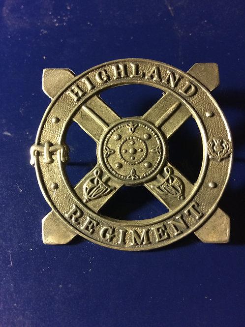 Highland Regiment Pin