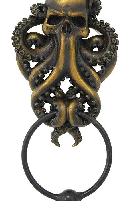 Skull Octopus Knocker