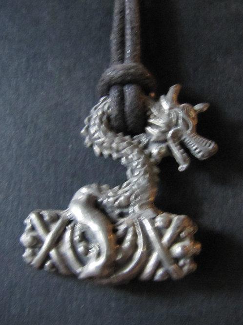 Dragon's Thor Hammer Pendant