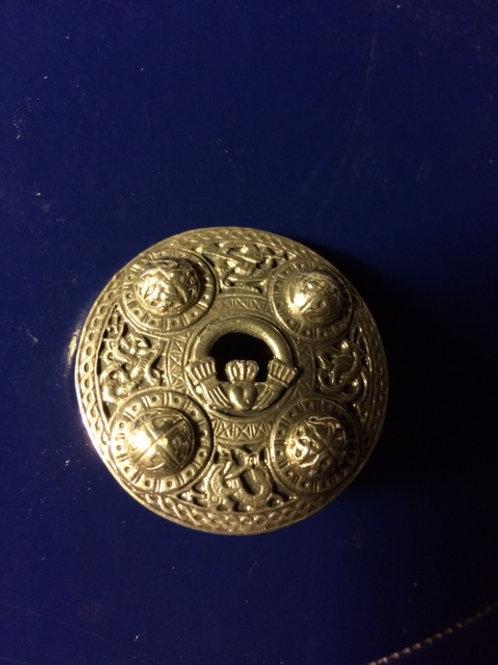 Claddagh Shield Pin