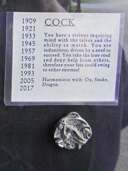 Cock Medallion