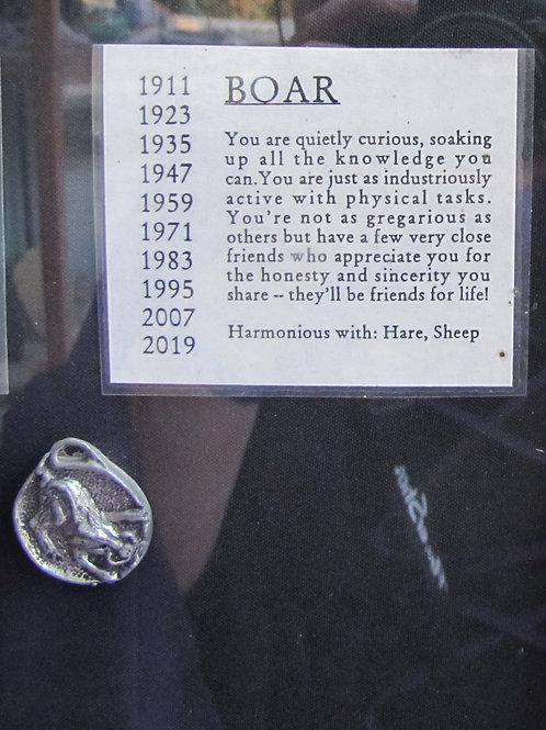Boar Medallion