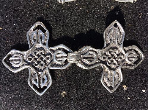 Celtic Cross Cloak Clasp