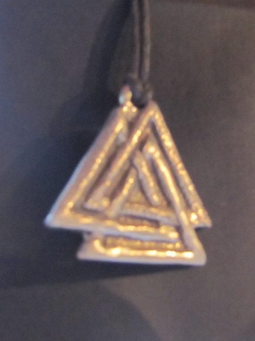 Valknut (Odin's Knot) Medallion