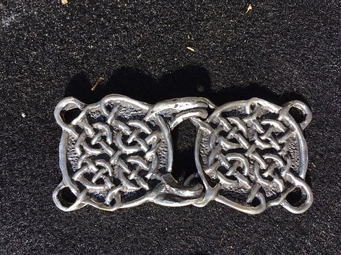 Infinity Knot Cloak Clasp