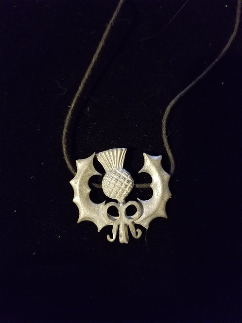 Thistle Necklace with Bow