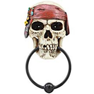 Pirate Skull Knocker
