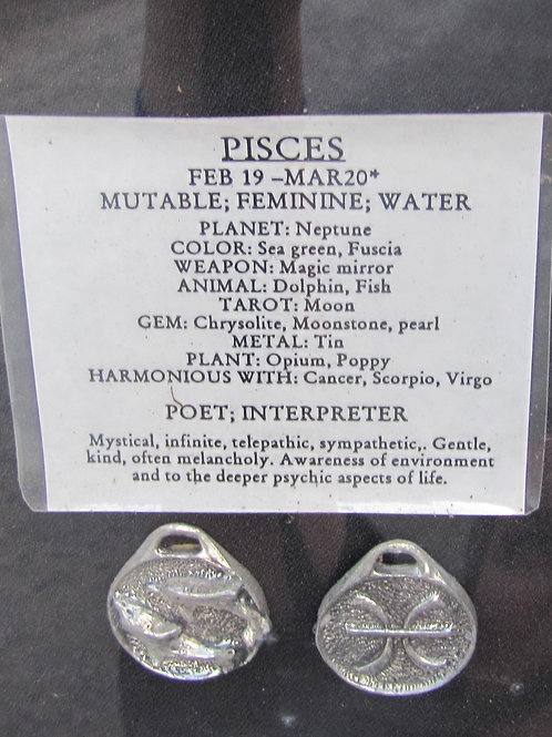 Pisces Medallion