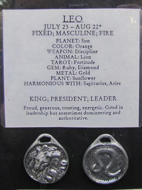 Leo Medallion