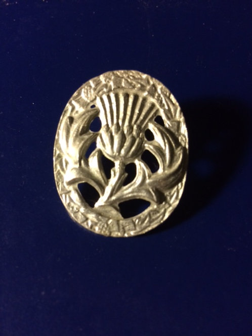 Oval Thistle Pin