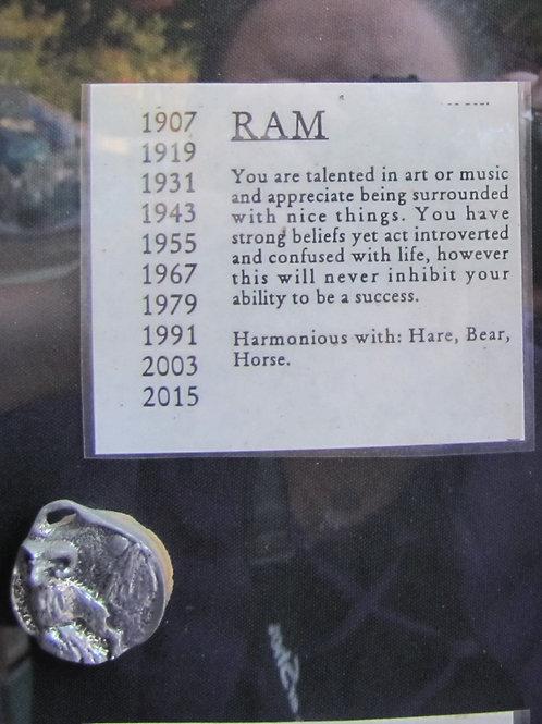 Ram Medallion