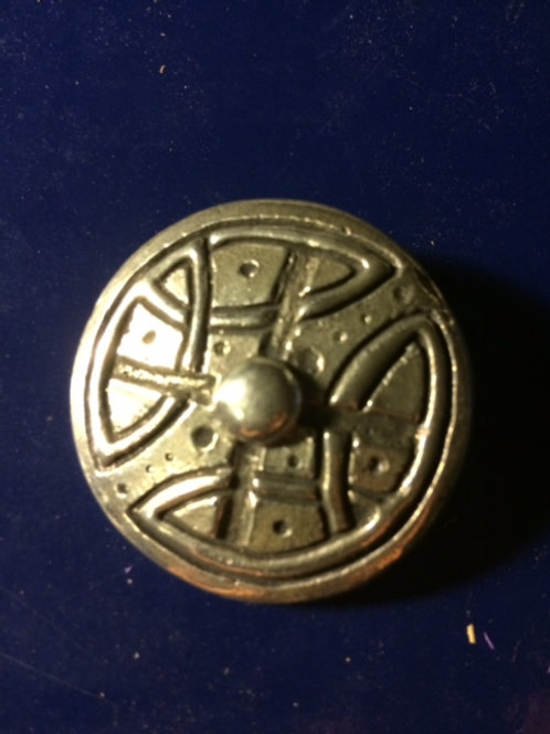 Celtic Knot Shield Pin