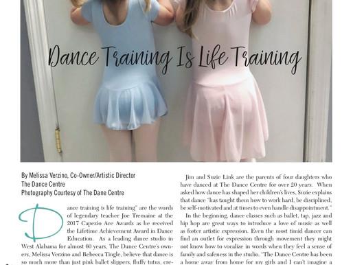 Dance Training is Life Training