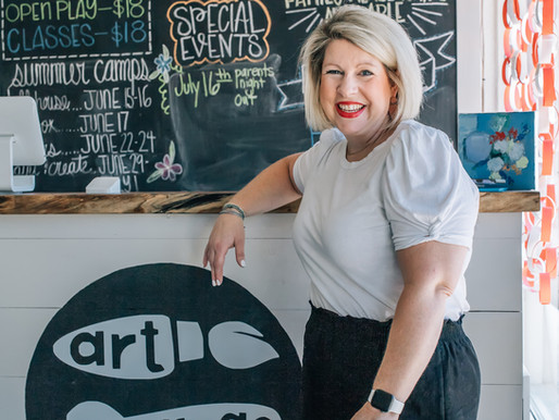 Kids Life Supermom: Joanna Lemmon, Owner of Art Garage