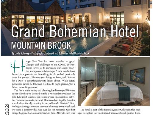 Escape For A Date: Grand Bohemian Hotel, Mountain Brook