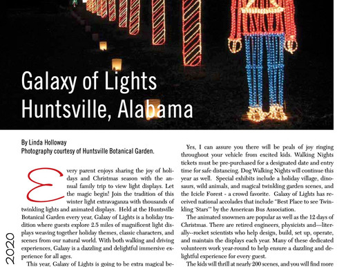 Are We There Yet? Galaxy of Lights, Huntsville, Alabama