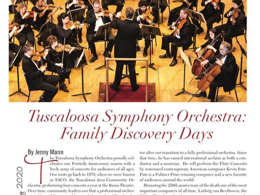 Tuscaloosa Symphony Orchestra: Family  Discovery Days