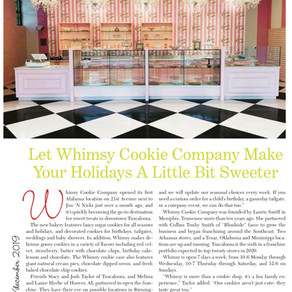 Let Whimsy Cookie Company Make Your Holidays A Little Sweeter!