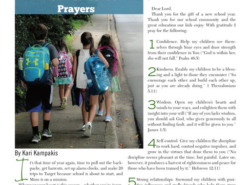 Back-to-School Prayers for Your Child