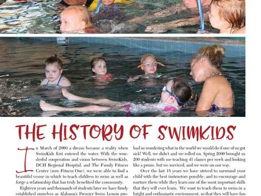 SwimKids Celebrates 18 Years