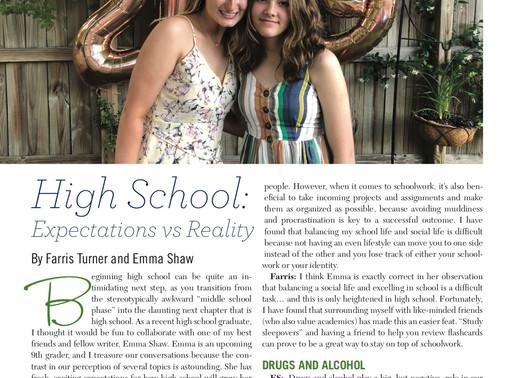 High School: Expectations vs. Reality