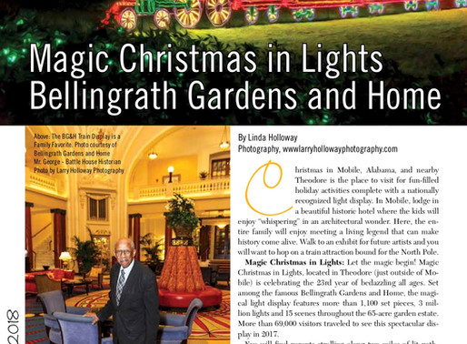 Are We There Yet? Magic Christmas in Lights, Bellingrath Gardens and Home