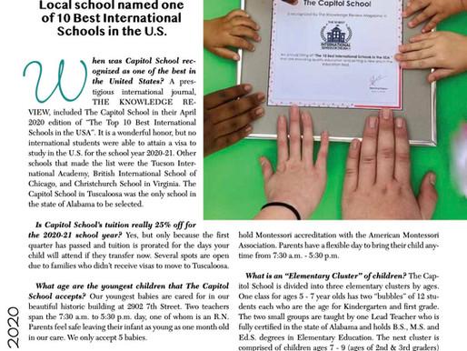 Local School Named One of  10 Best International Schools in the U.S.