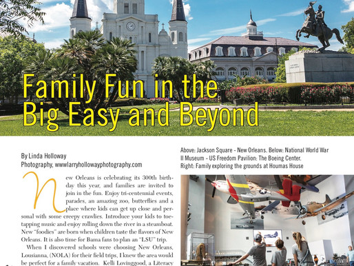 Are We There Yet? Family Fun in the Big Easy and Beyond