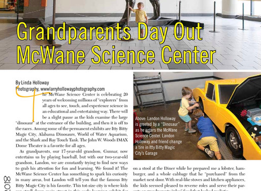 Grandparents Day Out: The McWane Science Center