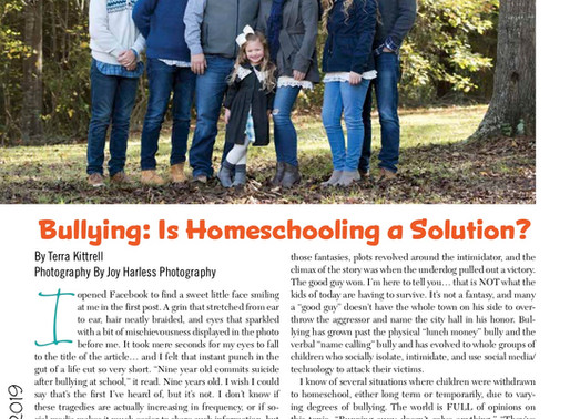 Bullying: Is Homeschooling A Solution?