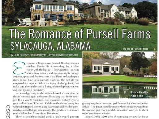 Escape For A Date: The Romance of Pursell Farms, Sylacauga, AL