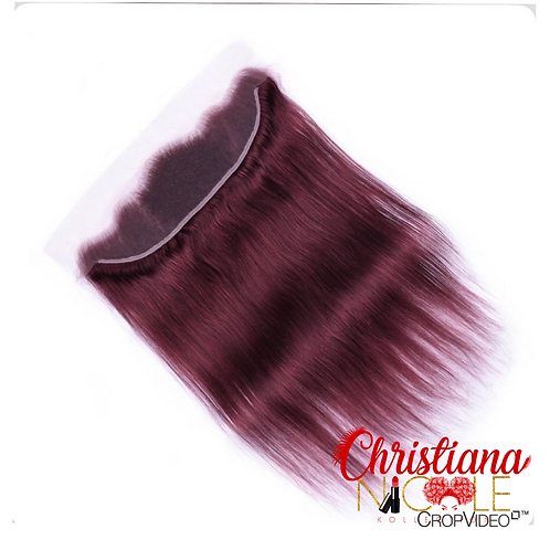 Color 13x4 Silky Straight Lace Frontal